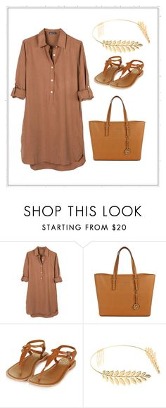 """""""Untitled #449"""" by mrsfreespirit ❤ liked on Polyvore featuring United by Blue, Michael Kors, Topshop and Cara"""