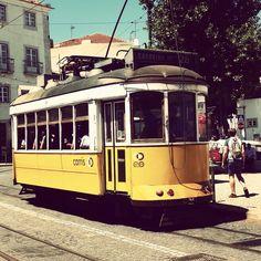 *Tram* Lisboa, Portugal