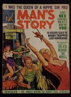 From breaking news and entertainment to sports and politics, get the full story with all the live commentary. Magazine Man, Pulp Magazine, Magazine Covers, Pin Ups Vintage, Adventure Magazine, Pulp Fiction Book, True Detective, Bd Comics, Its A Mans World