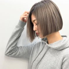 41 Top Bob Cut Short Hairstyles for Teen Girl - Short hair - hair Bob Haircuts For Women, Medium Bob Hairstyles, Trendy Haircuts, Short Bob Haircuts, Teen Hairstyles, Trending Hairstyles, Straight Hairstyles, Haircut Short, Fashionable Haircuts
