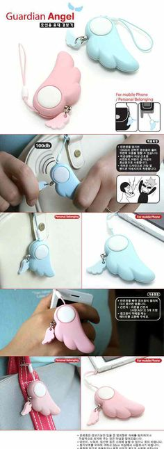 Cute Alarm - $0.88   ~ OMG I WANT THIS SO MUCH!! I'm gonna feel much more safe!!!  plus it's cute x)
