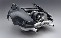 Singer Teams Up With Williams For Bonkers Air-Cooled 500 HP Engines