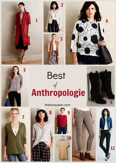 Best of Fall Style at Anthropologie