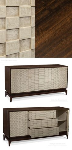 Fall & Winter Decor: Our Selection of the Best Mid-Century Sideboards Cabinet Furniture, Art Furniture, Furniture Styles, Unique Furniture, Luxury Furniture, Furniture Design, Mid Century Sideboard, Mid Century Furniture, Interior Architects