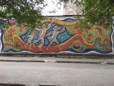 Places Of Interest, Mosaics, Ukraine, Beach Mat, Outdoor Blanket, Glass, Pictures, Photos, Drinkware