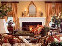 Traditional decorating style 101 from HGTV.