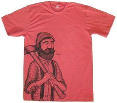 lumberjack tee.. everyone needs one