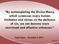 Why a Jubilee of Mercy? Read more at: http://www.zenit.org/en/articles/general-audience-on-holy-year-of-mercy