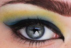 Sailor Moon: Sailor Uranus Inspired Eye Makeup