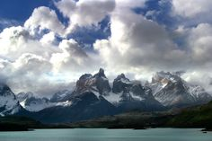 #Patagonia, Classic view of Los Cuernos from across Nordenskjold lake in Torres del Paine heartland http://www.ecocamp.travel/Tours/Patagonia-Paine-Circuit