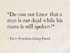 Terry Pratchett, Going Postal (Discworld)