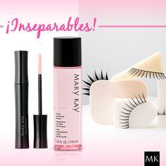 Antes de dormir, no olvides desmaquillar tus ojos, el desmaquillante Mary kay es perfecto para eliminar todo tipo de maquillaje de tus ojos. #makeup #marykay #pestañas
