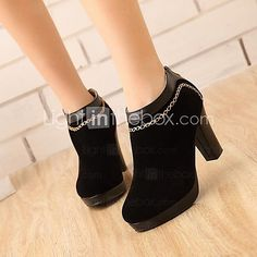 Womens Shoes Round Toe Chunky Heel Ankle Boots More Colors available  USD  3299