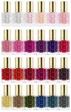 L'Oréal Paris Color Riche Le Vernis a L'Huile #fashionjuicecom