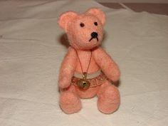 Bettinas lille hjørne Felt, Teddy Bear, Toys, Animals, Activity Toys, Felting, Animales, Animaux, Clearance Toys