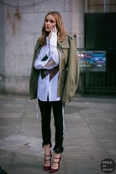 London Fashion Week Fall 2017 Street Style: Olivia Palermo