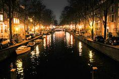 AMSTERDAM - Canal Leidsegracht