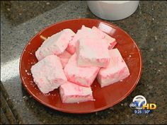 Homemade Peppermint Marshmallows #GMAR #KATV