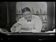 Jackie Gleason - Joe the Bartender on The Jackie Gleason Show