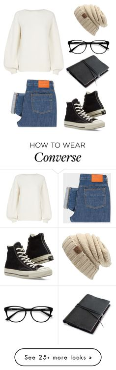 """Untitled #282"" by selah1104 on Polyvore featuring Helmut Lang, PS Paul Smith, Converse and EyeBuyDirect.com"
