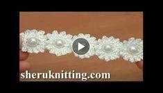 Crochet Mini Flower String Tutorial 115