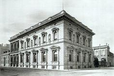 Palais Borsig (Voßstraße 1-Ecke Wilhelmstraße), um 1881 Quelle: http://www.wikipedia.de