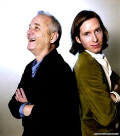 """""""so I had this idea for a movie..."""" Wes Anderson. """"Yes"""" bill Murray"""
