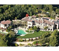 Home of Actor Eddie Murphy in Beverly Park, California
