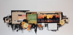kAISERCRAFT - MY STORY - LAYOUT - KEEP GOING- MIXED MEDIA - KIRSTEN HYDE - MYHYDEAWAY - 1