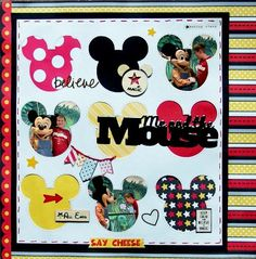 Layout: Me and the Mouse