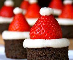 I brownies di Babbo Natale | Fare casa