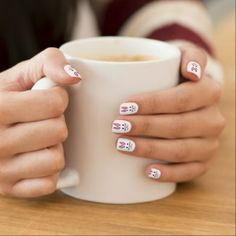 Cute Easter Bunny Fingernail Decals by Minx Nails.  Customize the background color for a unique custom Easter gift for her. #Nails #Nailart #naildecals #Easter #Easterbunny #rabbit #Minxnails #zazzle #customgift
