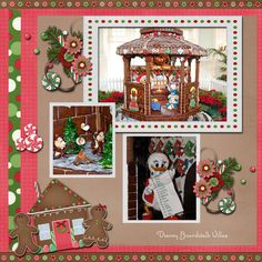 Christmas Decorations - Gingerbread - MouseScrappers.com