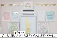Nursery Gallery Wall Ideas - Project Nursery