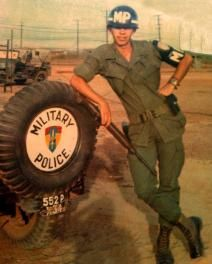 18th Military Police Brigade Vietnam War. Long Binh, South Vietnam Headquarters.