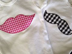 Trendy little onesies for the little ones in your crib!