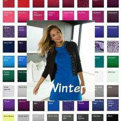 Winter color palette from Kettlewell Colours Summer 2016  #Winter color palette #Kettlewell Colours #color analysis  http://www.style-yourself-confident.com/seasonal-color-analysis-winter.html