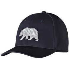Patagonia Bear Heaven Roger That Hat Hat (36 NZD) ❤ liked on Polyvore  featuring 969a7df5574a