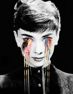 Audrey Hepburn | Edgy art