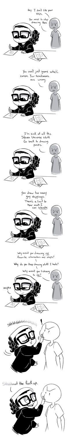 Entitlement by Lopoddity.deviantart.com on @DeviantArt