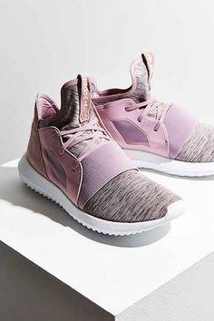 wholesale dealer d46ce 84749 adidas Tubular Defiant Sneaker Adidas Tubular Women, Tubular Defiant, Knit  Sneakers, Sporty Style