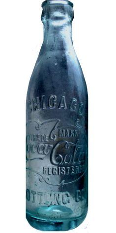 Coca Cola Bottles, Pepsi Cola, Bottles And Jars, Antique Glass Bottles, Vintage Perfume Bottles, Always Coca Cola, World Of Coca Cola, Vintage Jars, Chicago Illinois