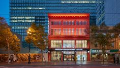 SOM's renovation of the Strand Theater resurrects the 100-year-old movie theater on San Francisco's Market Street to provide a highly visible and experimental performance space for the city's preeminent theater company, American Conservatory Theater