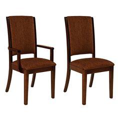 Amish Sanford Dining Chairs   Amish Furniture   Shipshewana Furniture Co.