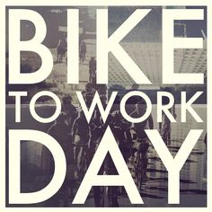 I didn't do it on bike to work day last year but i did make the 20 mile ride (one way) one day! I'd love to do it again this year!
