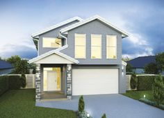 Browse our range of practical, well-designed home designs and floor plans. We have a variety of single storey, double storey, narrow lot, and acerage designs. Double Storey House Plans, One Storey House, 2 Storey House Design, 4 Bedroom House Designs, 4 Bedroom House Plans, Dream House Plans, Build Your Own House, Build Your Dream Home, Perth