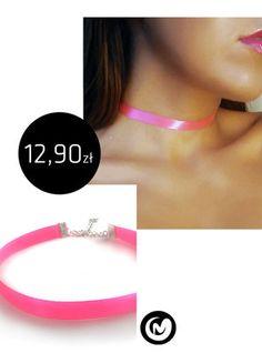 Kup mój przedmiot na #vintedpl http://www.vinted.pl/akcesoria/bizuteria/15707654-choker-satyna-rozowy-milimoon-amarant-naszyjnik-pink-roz