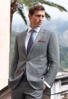 The Beaulieu Prince of Wales Check Suit is a fresh choice in Summer formal wear #SharpForSummer