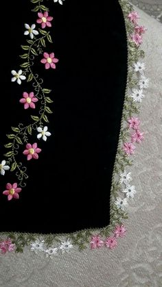 125 Grain Crochet Lace Edging Edges All Beautiful Beautiful Lilies . - 125 Grain Crochet Lace Edges All Beautiful Beautiful Lilies Crochet Lace Hand Embroidery Patterns Flowers, Border Embroidery Designs, Hand Embroidery Videos, Embroidery On Clothes, Embroidery Flowers Pattern, Simple Embroidery, Silk Ribbon Embroidery, Crewel Embroidery, Crochet Lace Edging