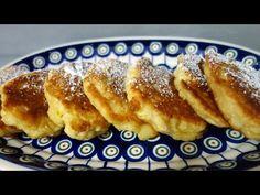 Racuszki z jabłkami Jak zrobić racuchy z serka homogenizowanego - YouTube French Toast, The Creator, Breakfast, Youtube, Food, Morning Coffee, Essen, Meals, Youtubers